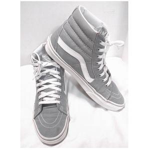 Vans Frost Gray Sk8 Hi Skate Shoe